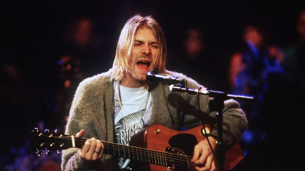 The death of Kurt Cobain