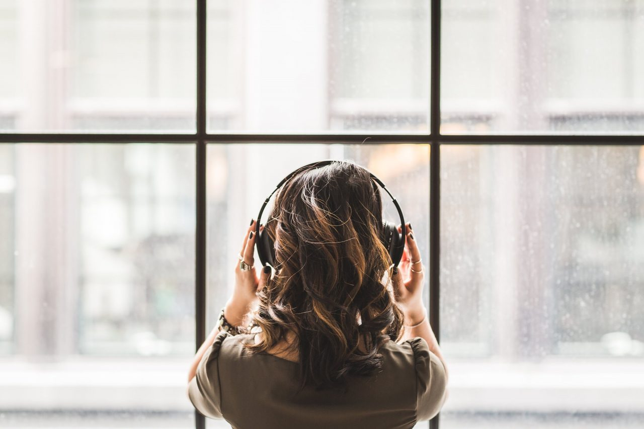 Why do we move our heads unconsciously when listening to music?